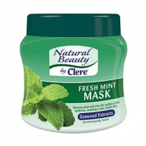 Clere Facial Mask - Mint 500 ML