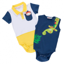 Orman Dostlari Baby Multi-color Bodysuit