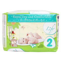 Lify Baby Diaper Small, 2 (2 - 6kg), 22Pcs