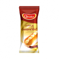 Qbake Custard Roll 1 pc