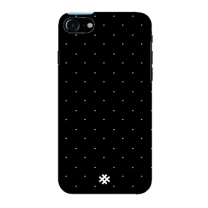 Hash Apple iPhone 7 Abstract Black Polka Premium Phone Case