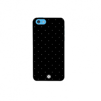 Hash Apple iPhone 5 SE Abstract Black Polka Premium Phone Case