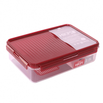 Komax Hikips Rect.Food Saver R3 2.0L, Red
