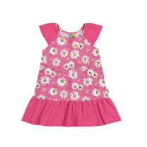 New Summer Cotton Girl Dress, Pink