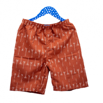Kids Children Shorts, Orange