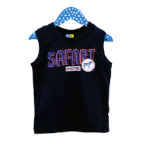 Tank Top For Boy, Dark Blue