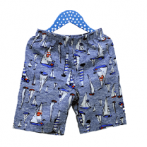 Summer Shorts for Boys, Blue