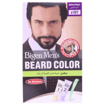 Bigen Mens Beard Colour Natural Black B101