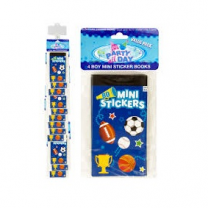 Boy Sports Mini Sticker Book