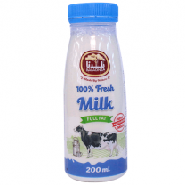 Baladna Fresh Cow Milk Full Fat 200ML