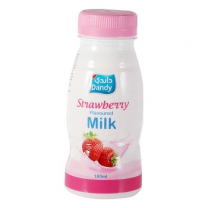 Dandy Strawberry Flavoured Milk 180ml
