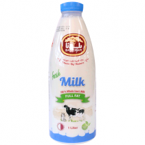 Baladna Fresh Full Fat Milk 1Ltr