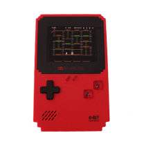 Pixel Player With 300 Games Built-in, Red