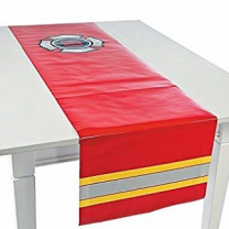 Firefighter Party Ladder Table Runner