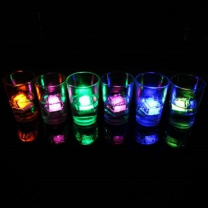 LED Light Up Ice Cubes Multicoloured