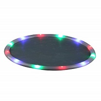 LED Light Up 14 inch serving tray- multicolor