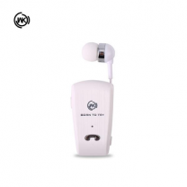 WK BS 535 Bluetooth Earphone, White