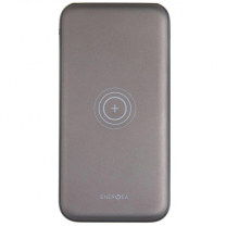 Energea Slimpac 8000mah Wirless Charging Power Pack - Gunmetal