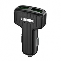 Zendure  Car Charger  QC 3.0, Black