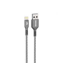 Apple MFI Certified Zendure Cable (100cm), Grey