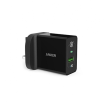 Anker Powerport+1 With Quick Charger 3.0 Uk (Offline), Black
