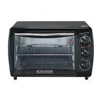 Black & Decker Toaster Oven With Rotisserie 19ltr