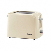 Bosch Compact Toaster 980W TAT3A017GB, Beige