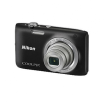 Nikon Coolpix Digital Camera Black S2800