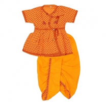 Moni - Cotton Boys Dhoti With Chaniya-I01JPE5247DE4