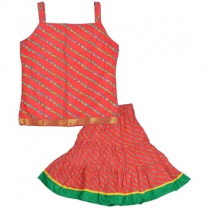 Moni - Cotton Girls Lehenga Choli-I01JP07429B42