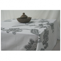 Pinky - Cotton Printed Table Cover-Z31JP06BF074A