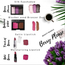 Berry Please Beauty Bundle (Free Shoe Bag)