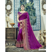 Silk Designer Saree With Blouse-017STB1F07439