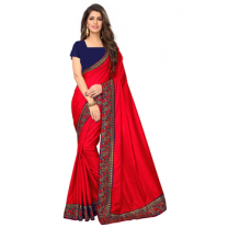 Greeny - Silk Embroidery Saree With Blouse-210ST832A9435