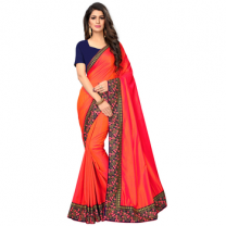 Greeny - Silk Embroidery Saree With Blouse-210STCE14FAD6