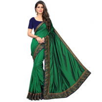 Greeny - Silk Embroidery Saree With Blouse-210ST5C82BF7D