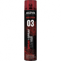 Agiva Hair Spray Gum Hair 400ml  A-R-4