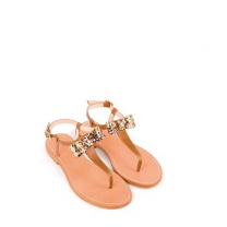 Mellow Yellow Flat Sandals Ballydolly Camel