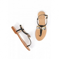 Mellow Yellow Flat Sandals Ballydolly Black