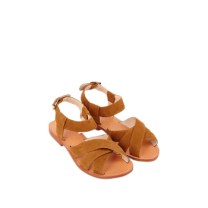 Mellow Yellow Flat Sandals Daline Camel