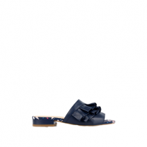 Mellow Yellow Mule Drelyna Navy