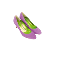 Mellow Yellow Pump Angie Purple