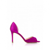 Mellow Yellow Pump BETTINA Purple