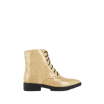 Mellow Yellow Heel Boots Capopi Gold