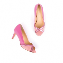 Mellow Yellow Pump Albane Pink