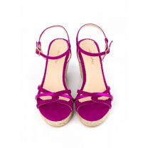 Mellow Yellow Heel Sandals Berlina Purple
