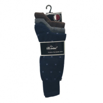 Benini Men Socks Designs Pack 3, Dark Colors