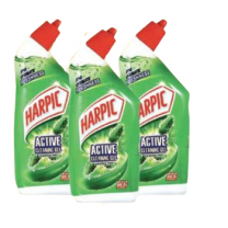 Harpic Toilet Cleaner Asstd 500ml X 3pcs