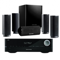 Harman Kardon AVR161 + HKTS 16BQ 5.1 Channel Home Theater