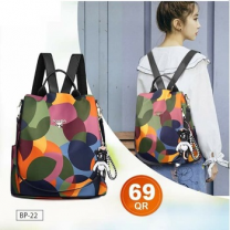 DIOMO Ladies Stylish Multicolor Backpack